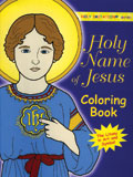Holy Name of Jesus Colouring Book