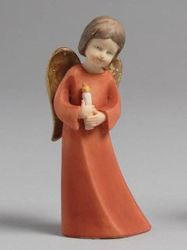 Angel with Candle statue
