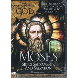 DVD - The Footprints of God: Moses - Signs, Sacraments And Salvation