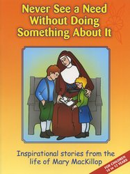 'Never See A Need Without Doing Something About It' activity book