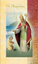 St Augustine of Hippo Leaflet