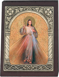 Desk Plaque Divine Mercy