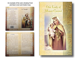 Prayer Leaflet Our Lady of Mt. Carmel