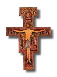 San Damiano Wall Crucifix